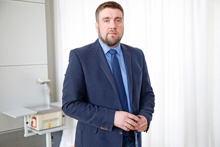 AfD-Politiker Uwe Wurlitzer (41).