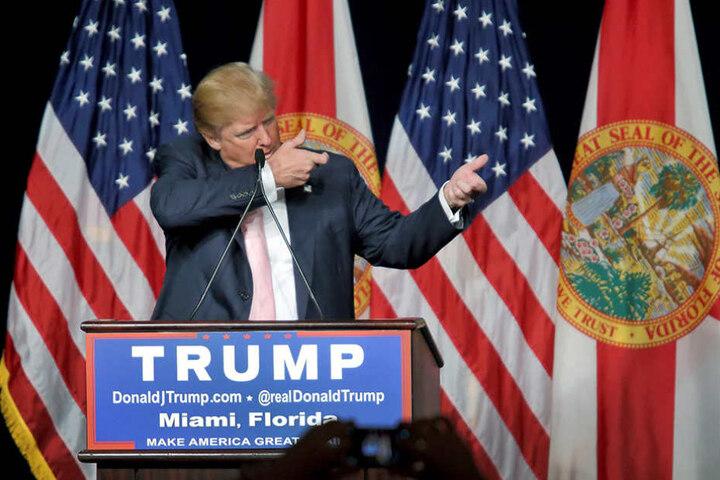 Donald Trump sorgt im US-Wahlkampf immer wieder für Furore.