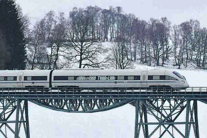 In einem neuen Technologiezentrum soll das Bahnfahren der Zukunft im Erzgebirge erforscht werden. (Symbolbild)