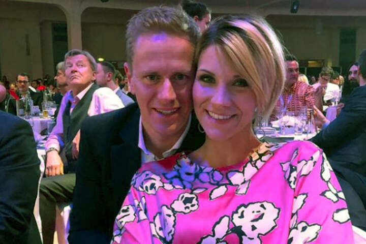 Mit Ehemann Christian ist Anna-Maria seit elf Jahre glücklich.