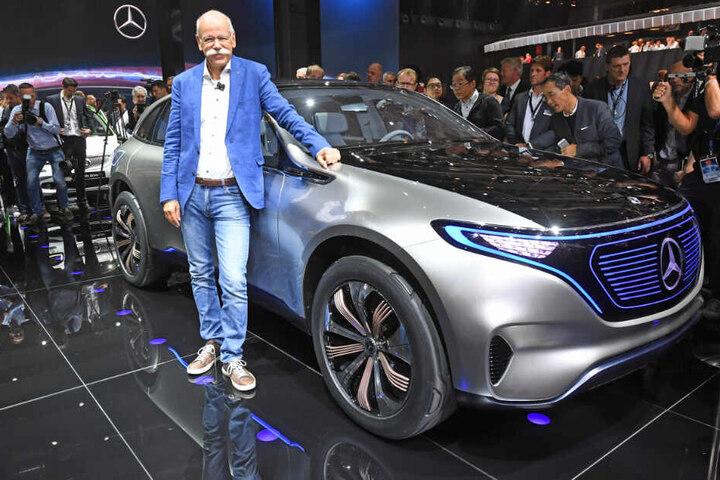 Noch ist er Daimler-Chef: Dieter Zetsche.