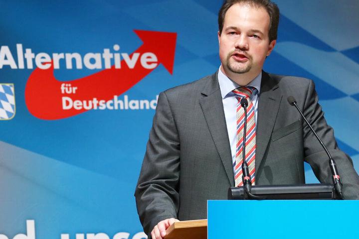 Martin Sichert fungiert aktuell als Landesvorsitzender der AfD in Bayern.