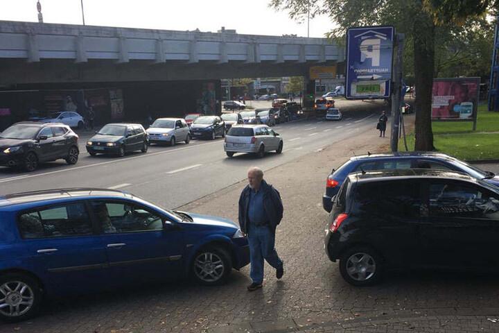 Fast alle Parkhäuser in Bielefeld sind dicht.