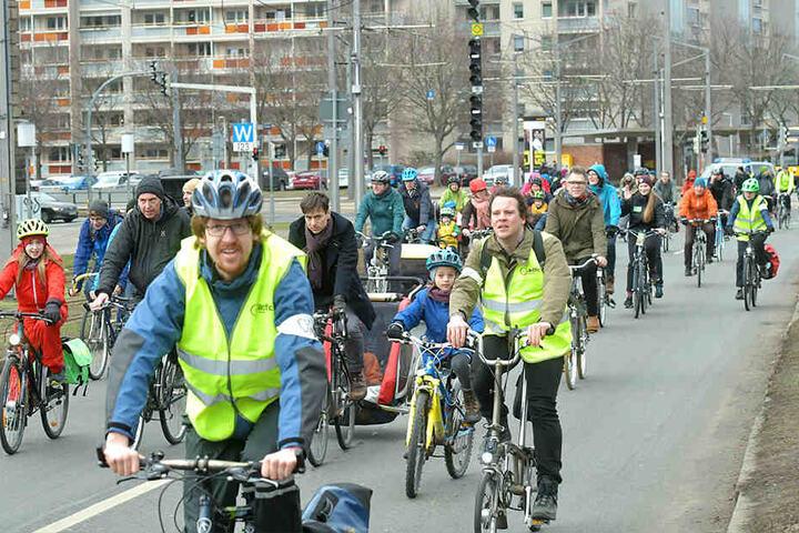 Über 600 Radfahrer waren am Sonntag unterwegs.