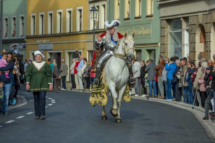 Der berühmteste Sachsenherrscher aus dem Fürstenzug: August der Starke