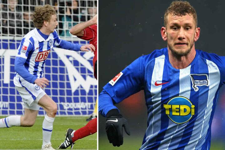 Haarige Entwicklung: Fabian Lustenberger wird am Samstag sein letztes Heimspiel in Freiburg bestreiten. (Bildmontage)