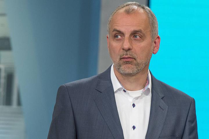 Linken-Landes-Chef Rico Gebhardt (53).