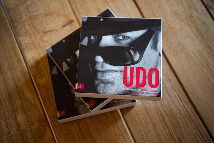 """Die neue Biografie mit dem schlichten Namen """"Udo""""."""