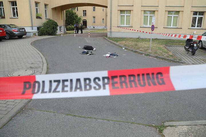 Einige Gegenstände blieben am Tatort zurück.