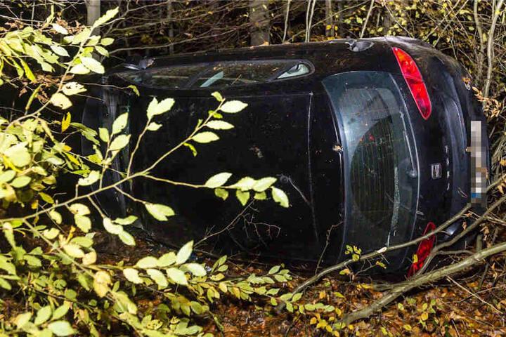 Die 19-Jährige Fahrerin erlitt zum Glück nur leichte Verletzungen.