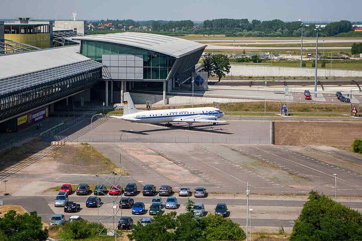 Vom Schkeuditzer Flughafen startete das Flugzeug in Richtung Georgien.
