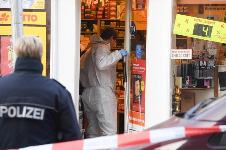 Bei einem Kiosk-Überfall in Wiesbaden wurde die Tante von Dynamo-Spieler Marc Wachs getötet.
