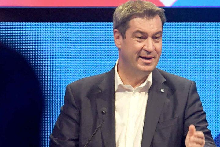 Markus Söder hat sich zur deutschen Medienordnung geäußert.
