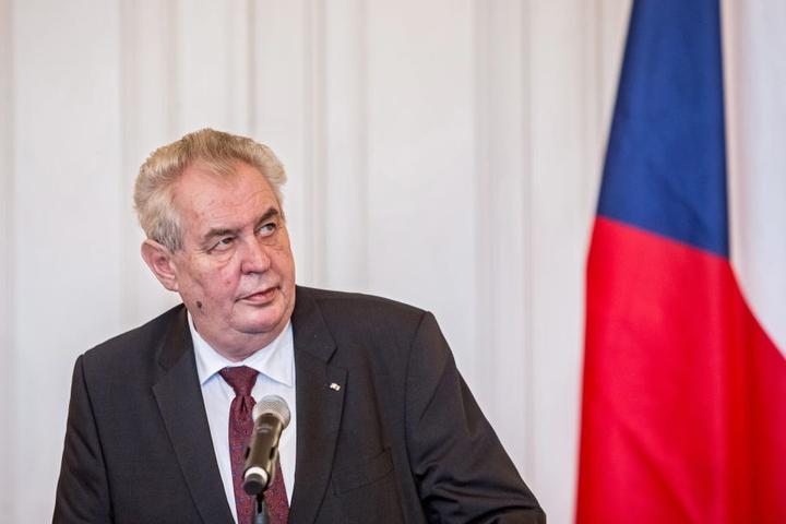 Der tschechische Präsident Milos Zeman.