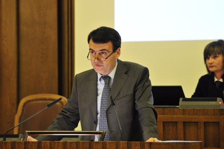 Dr. Mathias Hänel (52), Vorstandsvorsitzender des Chemnitzer FC.