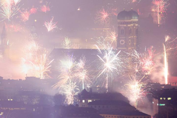 Die Silvester-Bilanz der Polizei fällt vor allem in der bayerischen Landeshauptstadt München positiv aus.