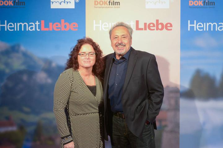 Der Schauspieler mit Regisseurin Jana von Rautenberg.