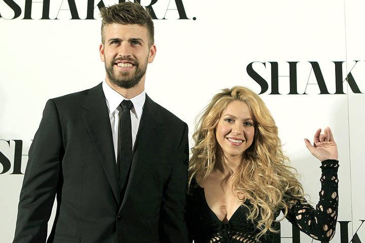 Die kolumbianische Sängerin Shakira und ihr Lebensgefährte, der katalanische Fußballer Gerard Piqué.