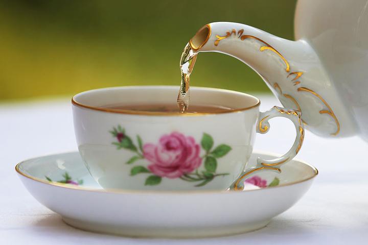 """It's Tea Time!"" heißt es in Gotha."