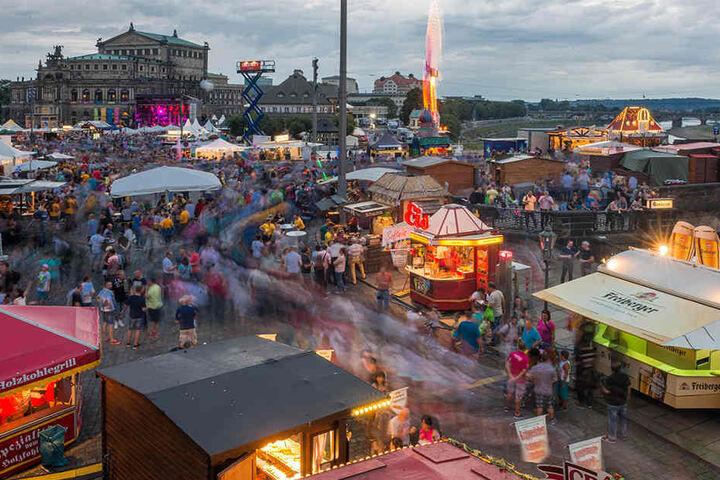 Auch 2016 gab es in der Landeshauptstadt eine Mega-Sause zum Stadtfest.
