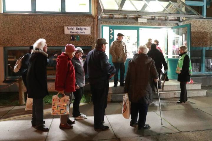 Anwohner kommen in der Astrid-Lindgren-Grundschule unter.