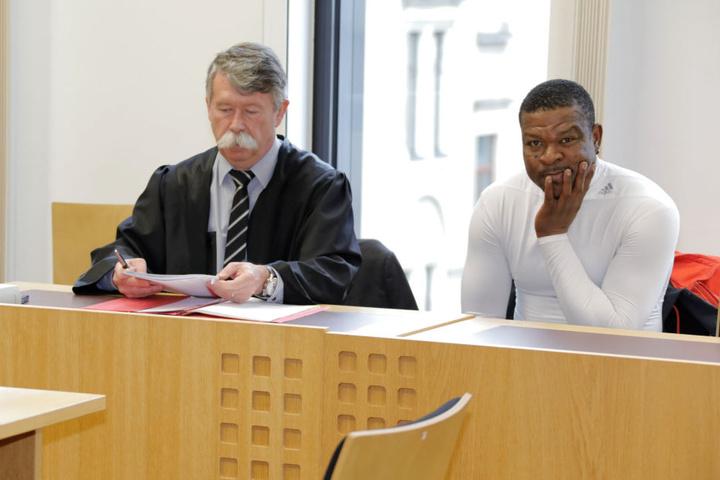 Ex-CFC-Spieler Yakubu Adamu musste sich am Mittwoch vor dem Amtsgericht Chemnitz verantworten.