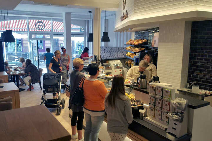 """Seit einiger Zeit bietet die Bäckerei Westbomke die Aktion """"Spendiert"""" an."""