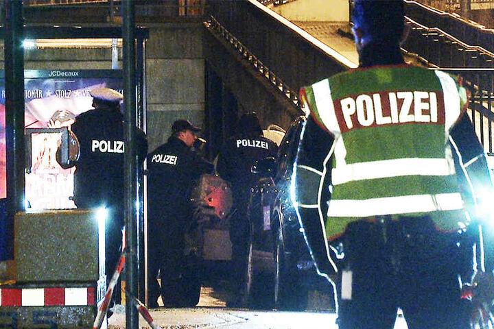 Das Entschärfungskommando der Bundespolizei sicherte den Sprengkörper und untersuchte ihn später.