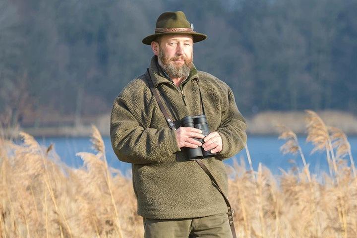 Norman Härtner (56) vom Jagdverband ist überzeugt, dass es in Sachsen zahlreiche Wolfs-Hybriden gibt.