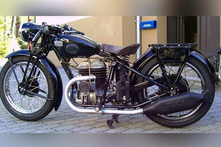 So sieht das gestohlene Zweirad aus dem Jahr 1934 aus. Wert: rund 10.000 Euro.