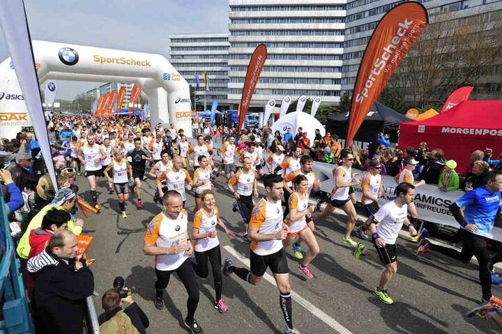 Der Veranstalter rechnet mit bis zu 2000 Läufern.