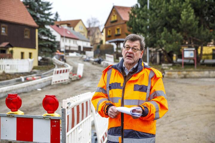 Will um jeden Preis wieder Bahnen über die Brücke fahren lassen: Straßen- und Tiefbauamtschef Reinhard Koettnitz (62).