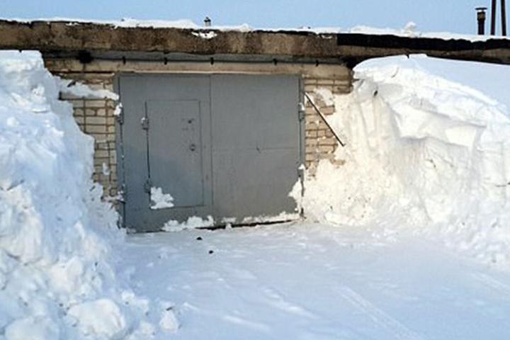 Natalya fand ihren Mann tot in dieser Garage.