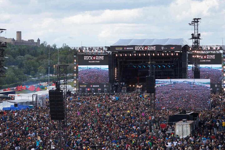 """""""Rock am Ring"""" findet jedes Jahr auf dem Nürburgring statt."""