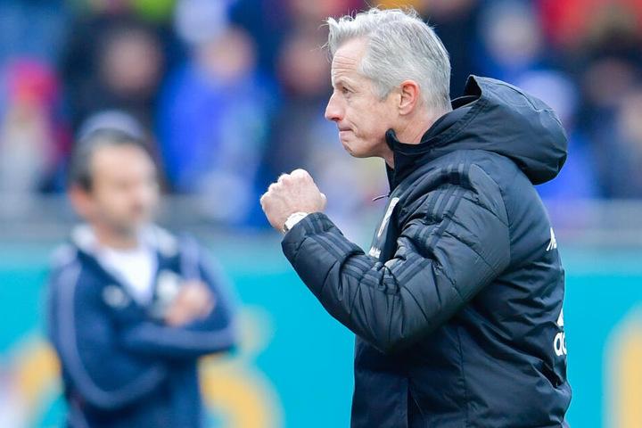 Jens Keller konnte den letzten Sieg gegen Bochum feiern. Folgt nun der Auswärts-Dreier in Köpenick?