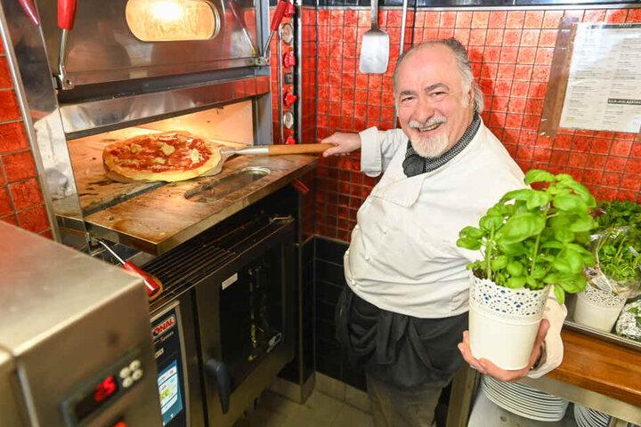 Giuseppe Balducci bringt jetzt italienisches Flair in den Rosengarten.