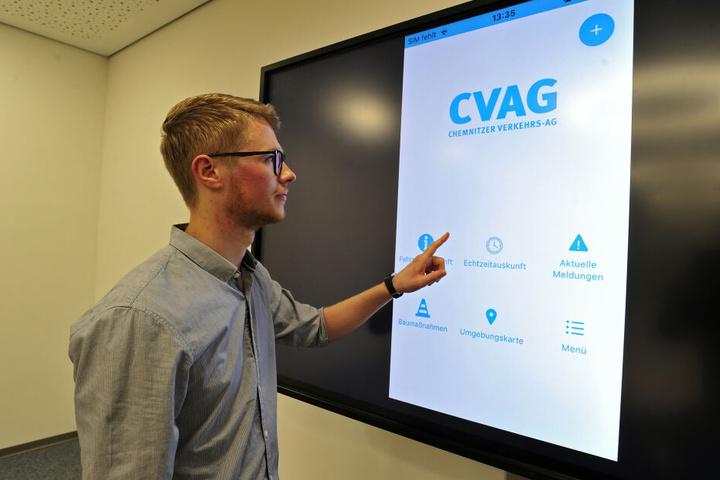 Auf dem Startbildschirm finden Kunden unter anderem eine Echtzeitauskunft oder aktuelle Mitteilungen.