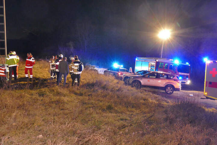 Mehrere Rettungskräfte waren im Einsatz.