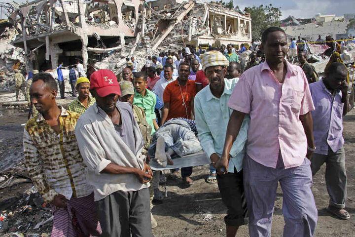 Es ist einer der schwersten Anschläge in der jüngsten Geschichte Somalias.
