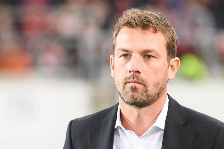 Unter Trainer Markus Weinzierl hat Mario Gomez bislang noch kein Tor erzielt.
