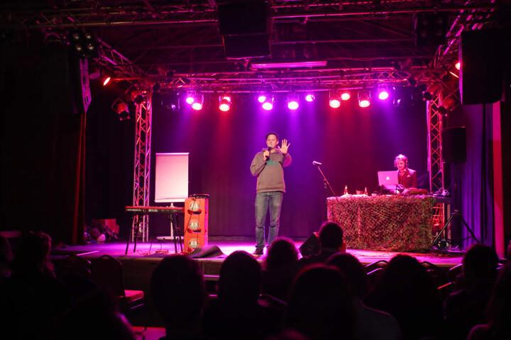 Beim Poetry Slam erhält man die Chance aktiv den Abend mitzugestalten.