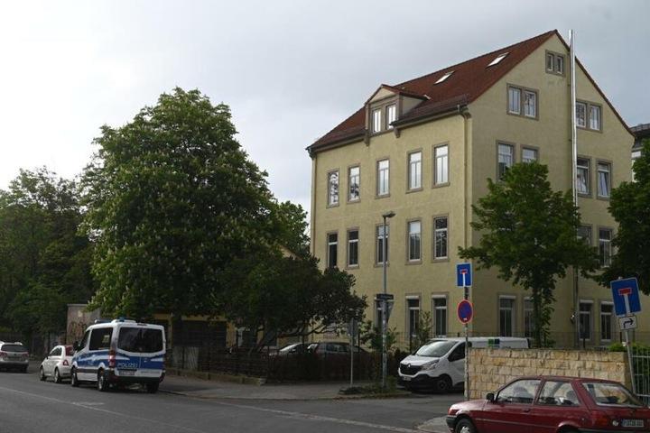 Das Haus auf der Stetzscher Straße.