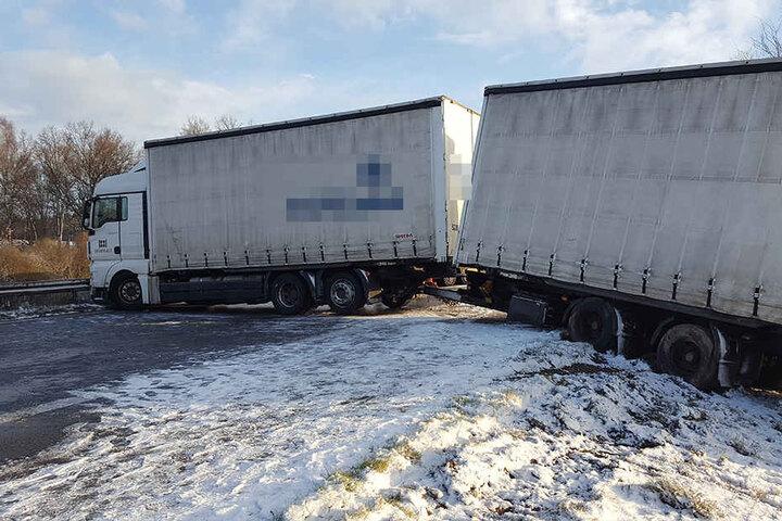 Die A4 Richtung Görlitz musste voll gesperrt werden.