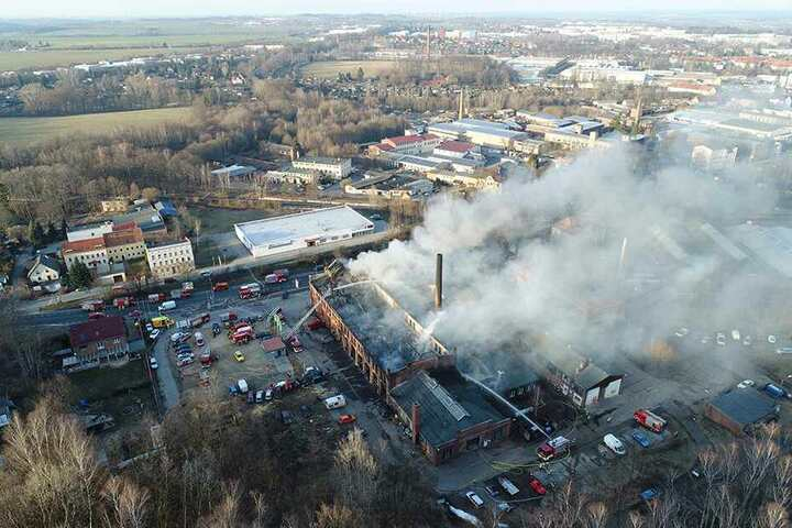 Dicke Rauchschwaden zogen damals über Görlitz hinweg.