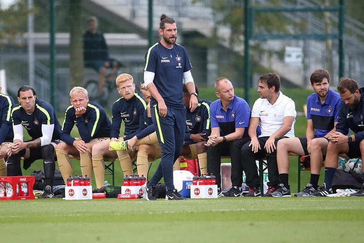 Robin Lenk ist Teamchef beim FC Erzgebirge Aue.