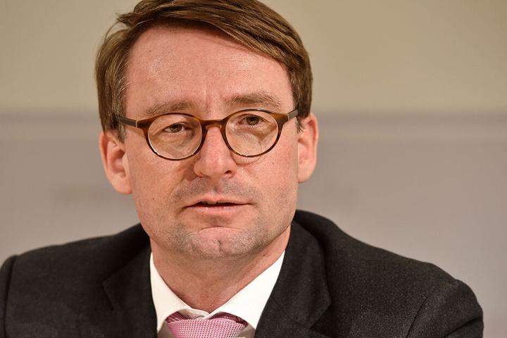 Sachsens Innenminister Roland Wöller (48, CDU).