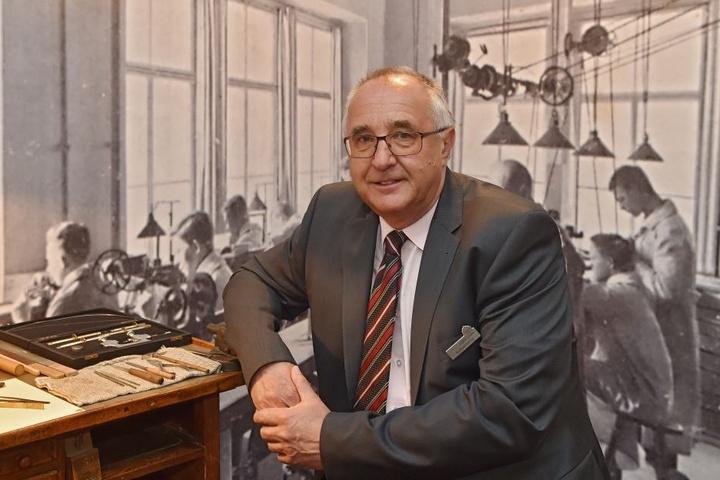 Museumschef Reinhard Reichelt (63).