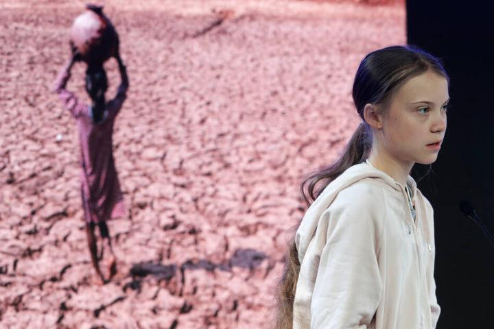 Der Globale Süden leide unter dem Klimawandel ganz besonders, betonte Greta Thunberg in einer Rede.