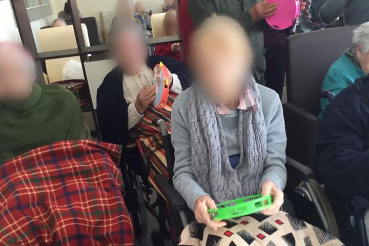 Die Rentner konnten aus dem Heim befreit werden.