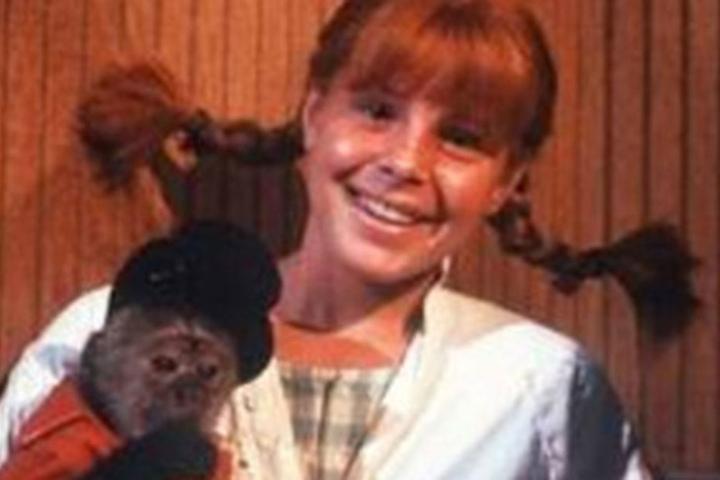 Tami Erin als Pippi Langstrumpf.